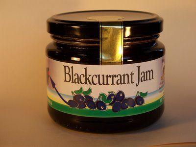 Blackcurrant Jam-400g.
