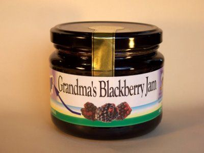 Grandma's Blackberry Jam-400g.