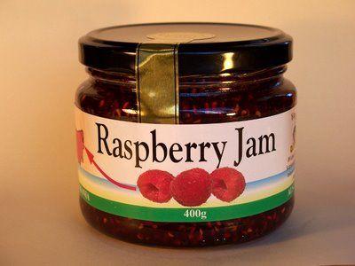 Raspberry Jam-400g.